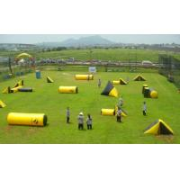Wholesale Fire Resistant Inflatable Sports Games , PVC Inflatable Paintball Arena for War Game from china suppliers