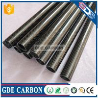 Buy cheap Premium Quality3K Twill Glossy Carbon Fiber Tube from wholesalers