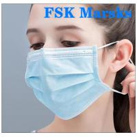 Wholesale Medical Non Woven Face Mask Protection Against Virus With Melt Blown Cloth from china suppliers