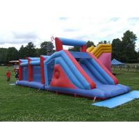 Wholesale Modern Giant Adult Inflatable Obstacle Course Games Playground from china suppliers