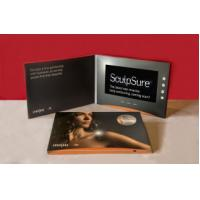 Wholesale 512M 7 Inch LCD Greeting Card , Hard Paper Digital Video Brochure from china suppliers