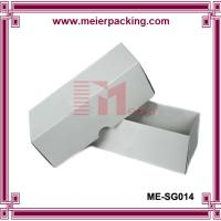 Wholesale White coated paper glasses box, 350g coated paper gift box ME-SG014 from china suppliers