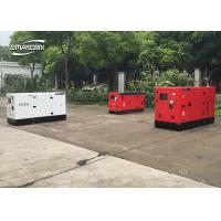 China 50Hz Powerful Industrial Backup Generator Three Phase 4 Cylinders on sale