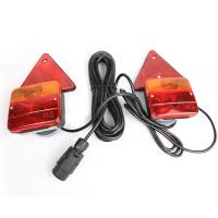 Wholesale vehicle Trailer Rear Lamps With Magnet And Round Plug Oem Railer Trailer Light Kit from china suppliers