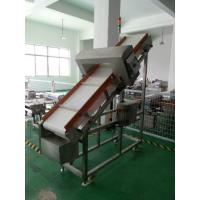 China Auto Conveyor Metal Detector 4015 for foods inspection  (inclined model with special belt) for sale