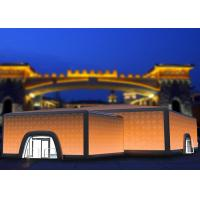 Wholesale Novel Lighting Cube Inflatable Building Inflatable Event Tent PVC Tarpaulin from china suppliers