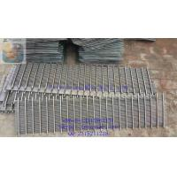China DEWATERING SCREEN PANEL / WEDGE WIRE GRATING / JOHNSON SCREEN SUPPORT GRIDS / STAINLESS STEEL SCREEN PLATE for sale