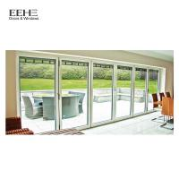 Wholesale Wear Resistant Aluminium Folding Doors With Argon Between The Glasses from china suppliers