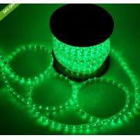 Quality led decoration light 2 wire round christmas decoration rope lights for sale