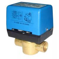 Modulating valve floating water flow switch