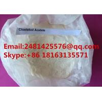 Wholesale Raw Steroid Hormone powder Clostebol acetate / Turinabol For Man Muscle Growth from china suppliers