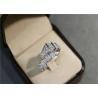 Buy cheap 1.27ct Diamond 12g Bulgari Serpenti Ring 18k White Gold copy brand jewelry from wholesalers