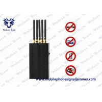 Wholesale 5 Antenna Portable Cell Phone WIFi GPS L1 Mobile Phone Signal Jammer from china suppliers