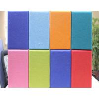 Wholesale Polyester Fabric For Acoustic Panels , KTV / Gym Noise Reduction Panels from china suppliers