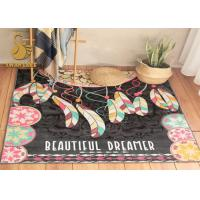 Wholesale Anti Slip Rug Underlay  Short Plush Chinese Oriental Rugs , Modern Kitchen Rugs Washable Dry Quickly from china suppliers