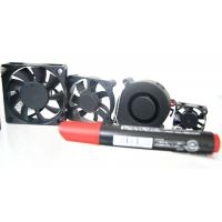 Wholesale 3000, 7000 cfm Ball or Sleeve bearing Brushless DC Fan 24v, 120x120x25mm, 92x92x25mm from china suppliers