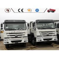 China Sinotruk HOWO Lorry And 10 Wheeler Dump Truck With Max Speed 80km / H for sale