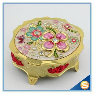 China Jewelry Boxes Mirror Box Wholesale Mirrored Jewelry Box on sale
