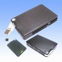 Wholesale Combo All-in-one Card Readers with Three-port Bus-powered USB Hub and Plug-and-play Function from china suppliers