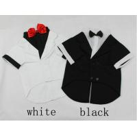 China TUXEDO big dog wedding / party suit bridegroom wear pets formal clothes S M L XL on sale