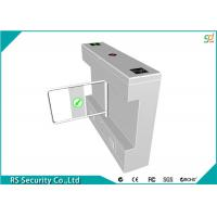 Quality Intelligent Swing Turnstile Security Systems Pedestrian , Bank Scenic for sale