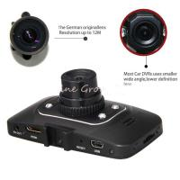 TFT Screen Car Blackbox DVR , Vehicle Camera G-sensor HDMI HD 1080P