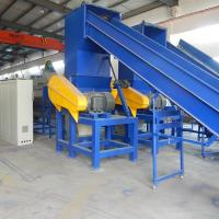 High Output Plastic Recycling Line , Plastic Film Recycling Machine / Equipment for sale