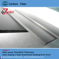 Wholesale 4.0mm±0.1mm Real Carbon Fibre Sheet / Carbon Fiber Fabric Sheets Twill Weave Style from china suppliers