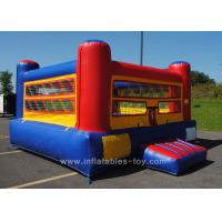 Wholesale Outside Inflatable Sports Games Colorful Inflatable Mini Boxing Ring For Kids from china suppliers