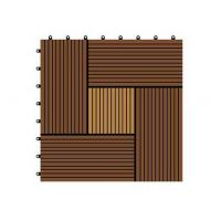 Wholesale WX11 DIY WPC decking tiles cheap interlocking tiles with easy installation for home garden from china suppliers