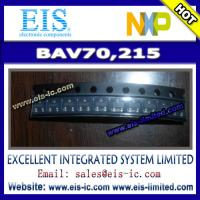 Wholesale BAV70,215 - NXP Semiconductors - DIODE ARRAY 100V 215MA TO236AB - Email: sales009@eis-ic.c from china suppliers
