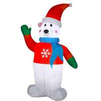 Buy cheap Factory Customized Christmas Holiday Family Party Outdoor Funny Inflatable Snowman Display from wholesalers