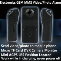 Wholesale Electronic GSM MMS Alarm Micro TF DVR Camera Locator W/ Send Video Photo to Mobile Phone from china suppliers