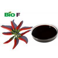 China Oil Soluble Organic Food Flavouring Capsicum Oleoresin CAS 8023-77-6 for sale