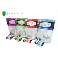 Buy cheap Seasoning Resealable Plastic Bags Spices Packaging Zipper Food Grade PET / PE from wholesalers