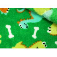 Wholesale Farland Comfortable Coral Fleece Fabric Plaid For Baby Clothing from china suppliers