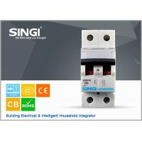 Wholesale SINGI SC63 63A 2 PHASE 400V CE certificate mini circuit breaker(MCB) manufacturer from china suppliers