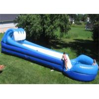 Wholesale Long Inflatable Commercial Water Slide For Grassland , Inflatable Pool Water Slide from china suppliers