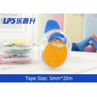 Wholesale Colorful Non-refillable Cute Correction Tape 5MM * 20M Roller from china suppliers