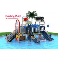 China Adventurous Water Park Playground Equipment , Attractive Water Park Slide  820*530*410cm on sale