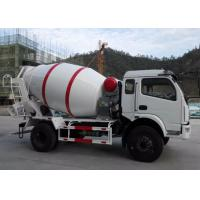 China DFAC Dongfeng 4X2 5M3 Small Concrete Truck , 5 Cubic Meters Concrete Cement Mixer Truck on sale