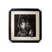 Wholesale Stock 5D pictures with Frame 3D Lenticular Pictures Popular Wolf Image from china suppliers