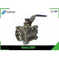 Wholesale Stainless steel full bore ball valves , 3PC Socket Welded ball valve from china suppliers