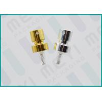 Two Shiny Colors Aluminum Perfume Spray Pump For Luxury Perfume Bottles
