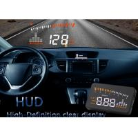 China Universal Cars X5 Obd2 Heads Up Display Vehicle Mounted Alarm Security System HD Color LED on sale