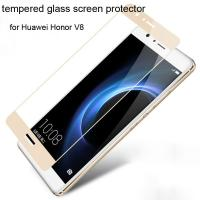 Buy cheap Best Colorful tempered glass screen protector Huawei Honor V8 Honor V8 Clarity full screen from wholesalers