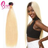 Wholesale 1B/613 Straight Dark Root to Blonde Ombre Mixed Color Hair Extensions from china suppliers