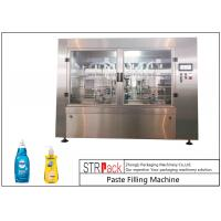 Wholesale High Accuracy Paste Filling Machine , Liquid Soap / Shampoo Filling Machine from china suppliers