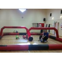 Quality Didicar Grand Prix Race Track Outdoor Inflatable Toys Kids Zorb Ball Race Ramp for sale