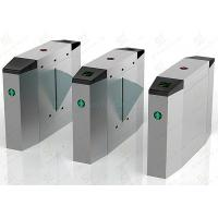 Wholesale Automatic Brush Motor Flap Barrier Gate, Indoor / Outdoor Optical Turnstile from china suppliers